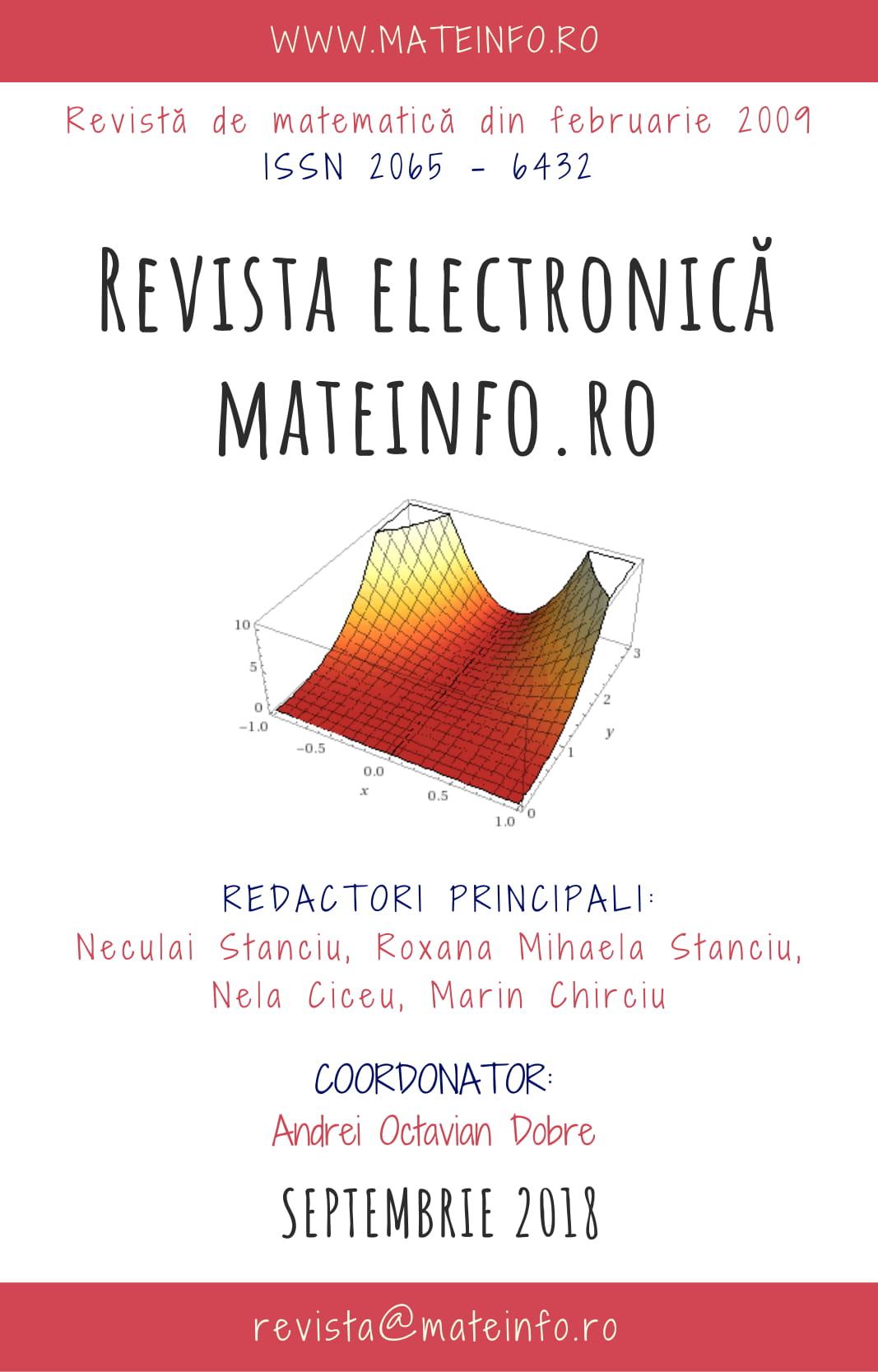 revista electronic u0103 mateinfo ro