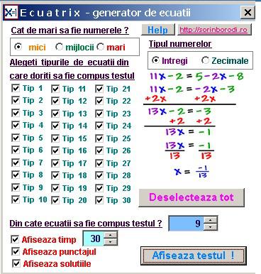 Ecuatrix f
